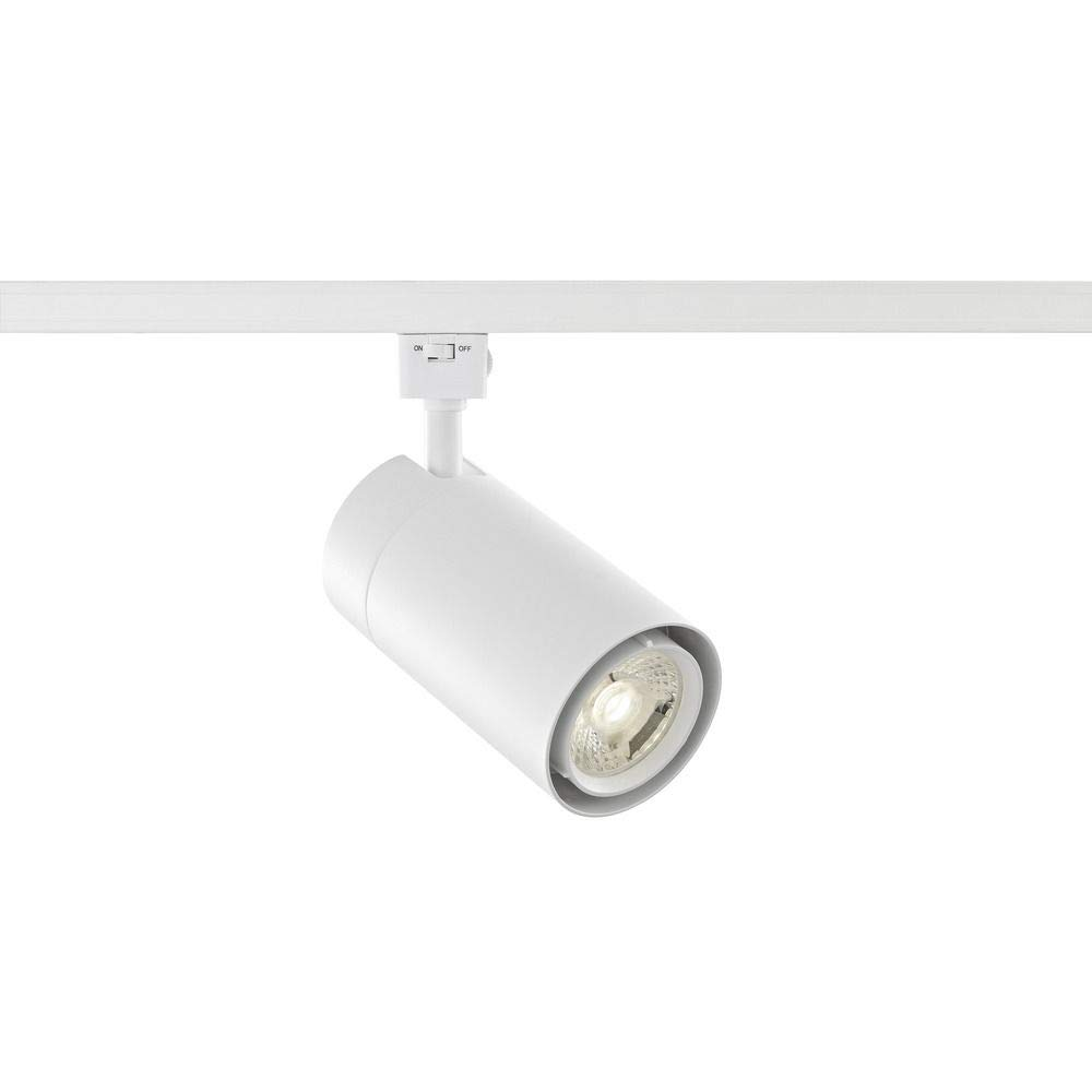 White LED Track Head Cylinder Light for Juno Track Systems 4000K 1800LM