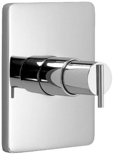 (Jado 831536.150 Glance Pressure Balance Shower Trim, Platinum Nickel)