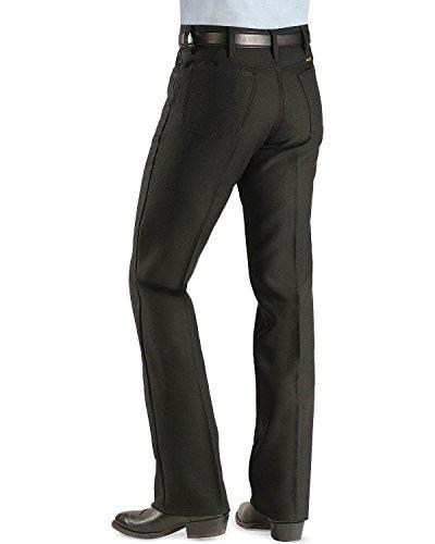 Wrangler Men's Wrancher Dress Jean,Black,36x32 - Basic Western Boot