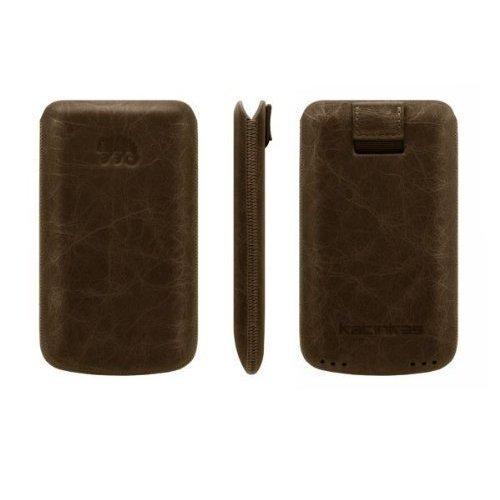 Katinkas USA 402157 Premium Leather Case for Giorgio Armani Samsung Galaxy S Creased - 1-Pack - Retail Packaging - - Usa Giorgio