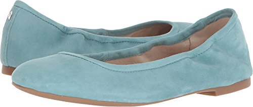 Sam Edelman Women's Floyd Porcelain Blue Kid Suede Leather 8.5 M (Floyd Porcelain)