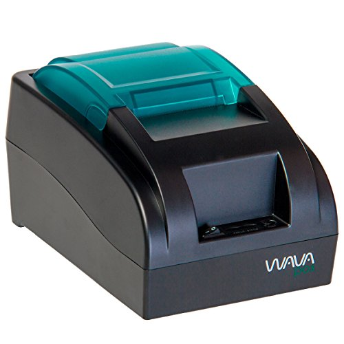 WAVA POS 58MM USB Thermal Receipt Printer Model W-POS58 – High Speed Printing, Paper Width 2 1/4″ – POS Receipt Printer for Restaurant, Retail – Small Receipt Printer (USA)