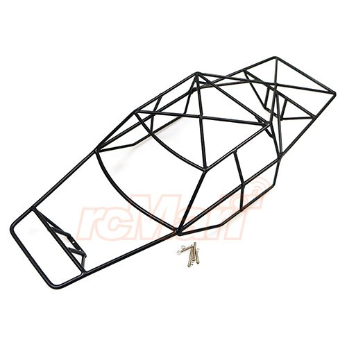 Amazon Com Xtra Speed Steel Cage Black For Traxxas 110 Slash 4x4
