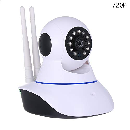 Wireless 1080P Pan/Tilt IP Security Camera Network CCTV Night Vision WiFi Webcam (720P)