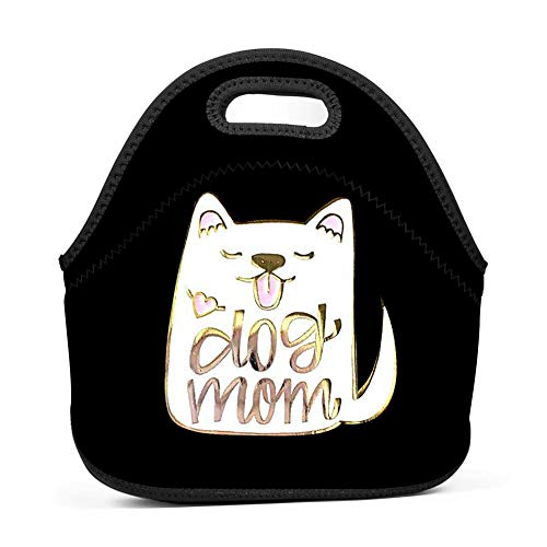 Pin Lunch Bags Portable Food Packet Tote Insulated Convenient Handbag ()