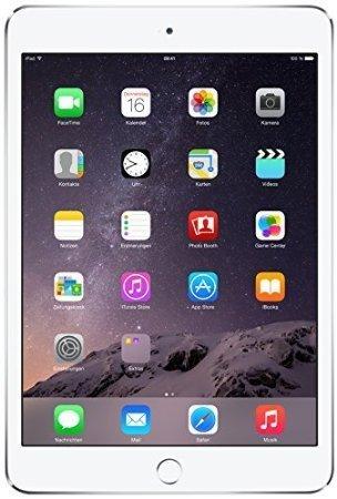 Apple iPad Mini 3 MGP42LL/A VERSION (128GB, Wi-Fi, Silver) (Series 802.11a/b/g Mini)