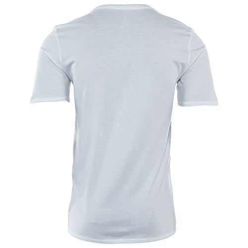 Nike Aj 13 Unlucky Camiseta, Hombre blanco