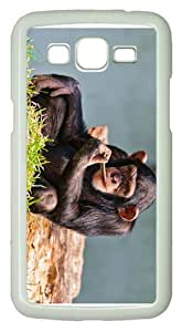 case coolest coversChimp THinking PC White case/cover for Samsung Galaxy Grand 2/7106