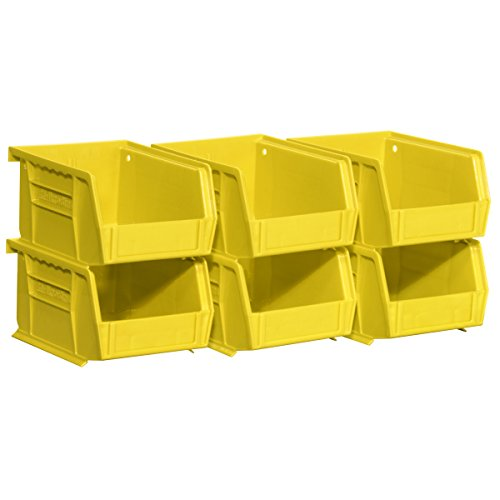 Akro Mils 08212Yello Stacking AkroBins Hardware