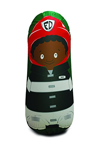 Bonk Fit High Performance Polyurethane Kids Inflatable Punching Bag Bop Toy PVC-Free with Machine Washable Designer Cover