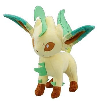 Peluche Pokemon phyllali/Leafeon 30 cm