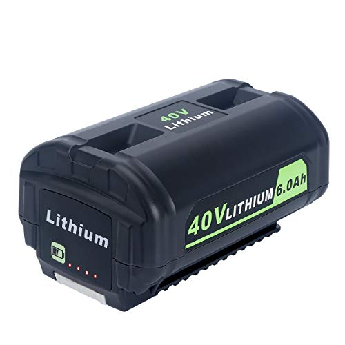 Lasica OP4050A 40V 6000mAh Lithium Battery for Ryobi 40-Volt Collection Cordless Power Tools Li-ion Battery OP4015 OP4026 OP40201 OP40261 OP4030 OP40301 OP4040 OP40401 OP4050 OP40501 OP40601