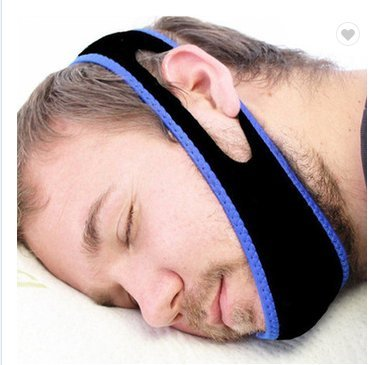 Healthy Sleeping Anti Snoring Chin Strap – No-Snoring Chin Strap – Adjustable Anti Snoring Device for Men and Women - Quality Sleep Aid Devices – Comfortable Chin Strap for Better Sleep and