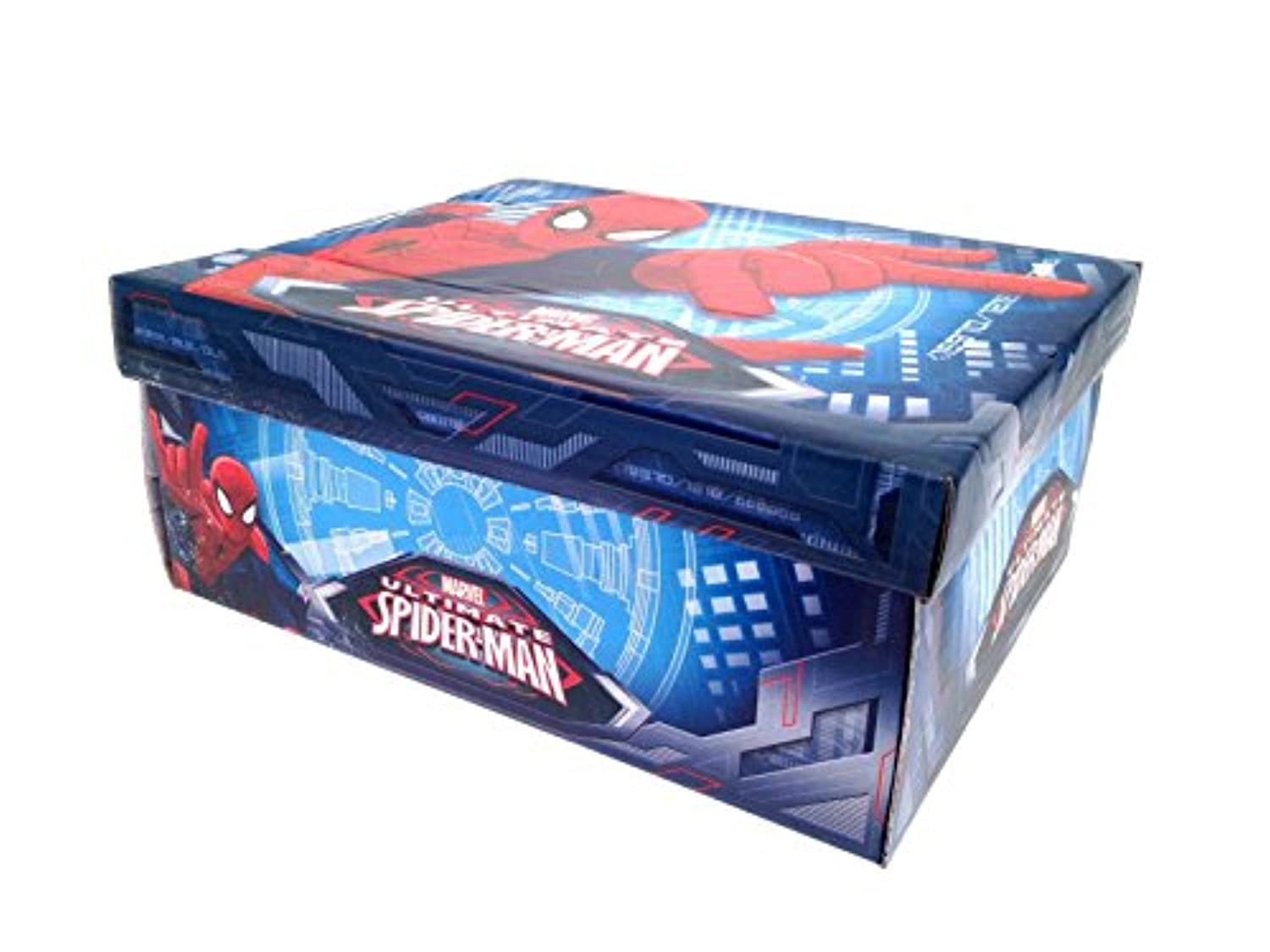 Marvel Boys Kids Ultimate Spiderman Velcro Trainers Shoes Size UK 10