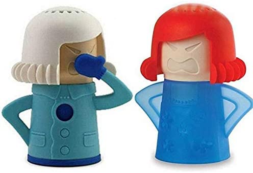 Limpiador de microondas Angry Mom con absorbente de olor de nevera ...