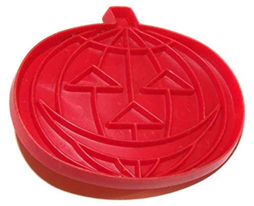 Halloween Jack-O-Lantern Pumpkin Shaped Tupperware Cookie Cutter -