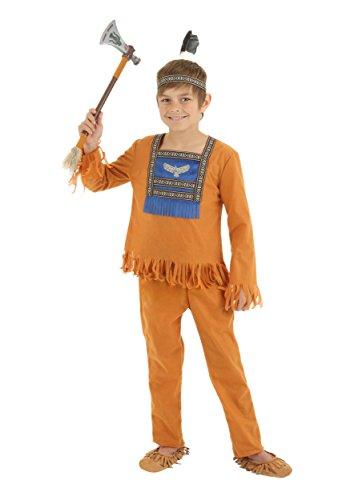 [Fun Costumes boys Boys Brave Indian Warrior Costume X-Large] (Indian Warrior Costumes)