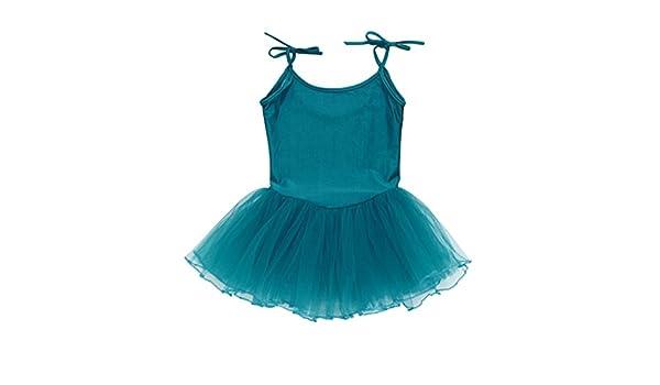 ebf0ff2c0 Amazon.com  Goodlock Toddler Kids Fashion Dress Girl Strap Gauze ...