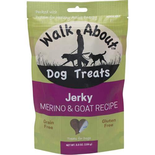 Walk About Dog Treat Jerky Goat