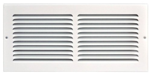 Speedi-Grille SG-146 RAG 14-Inch by 6-Inch White Return Air Vent Grille with Fixed Blades - Vent Grille