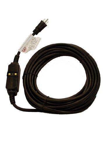 Leviton GFA15-37E 15 Amp, 120 Volt, 37 Ft Cord Set, Straight Blade, Automatic Reset GFCI Device