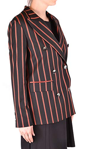 Alysi Blazer Mujer Mcbi37018 Negro Lana Zrf8Zq