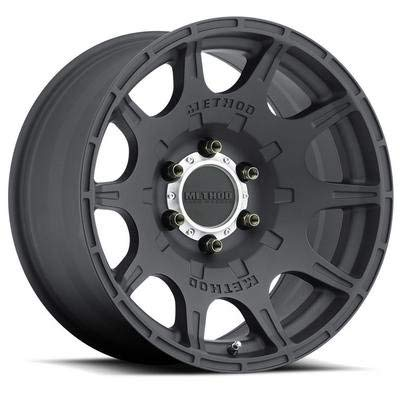 """Method Race Wheels Roost Matte Black Wheel with Machined Center Ring (18x9""""/5x150mm) 18 mm offset"""