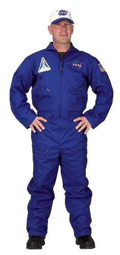 Nasa Costumes Adults (Aeromax Adult Flight Suit (Adult Small))
