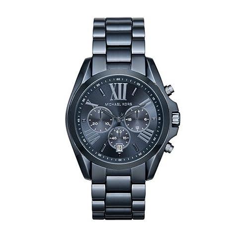 Michael Kors Women's Quartz Bradshaw Blue Watch MK6248 (Michael Kors Bradshaw Watch 43mm)