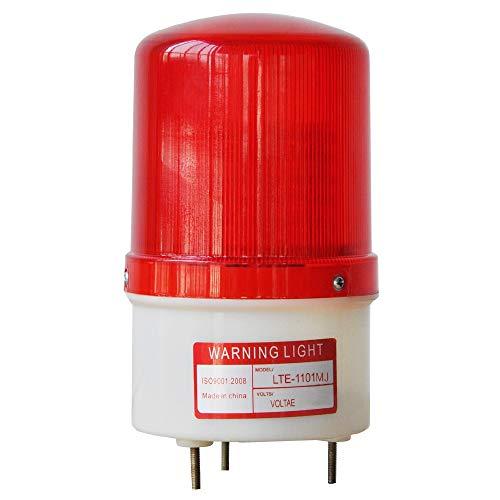 LTE1101MJ Rotary Warning Lights 110V AC red Color ()