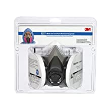 3M Mold And Lead Paint Removal Respirator 6297PA1-A-Na, Medium, 1 Each/Pack, 4 Packs/Case