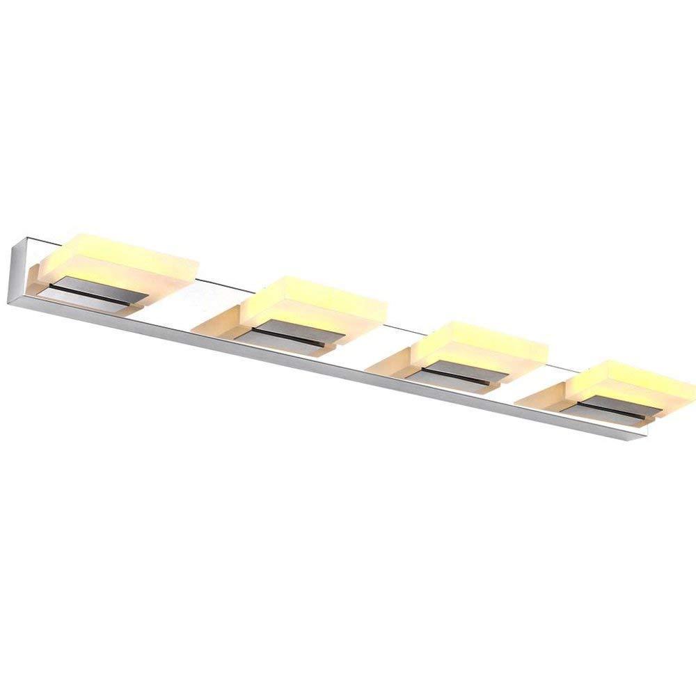 LED Spiegelleuchte, Dailyart LED Badezimmerleuchte Make up Lampe 360 ° Winkel Einstellbare Wandleuchte -12W,4 Leuchten,Warm-Weiß [Energieklasse A +] Dailyart®