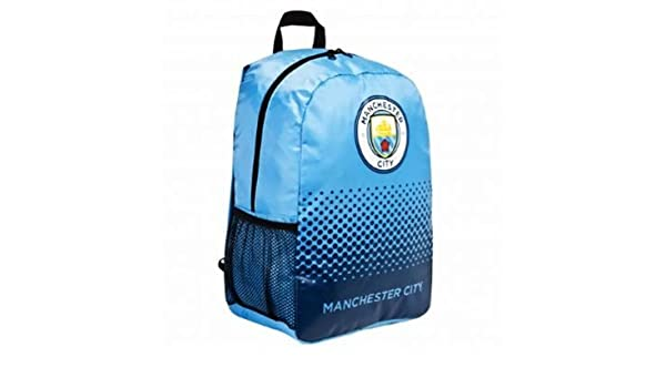 Amazon com : Official Manchester City Crest Rucksack : Sports & Outdoors
