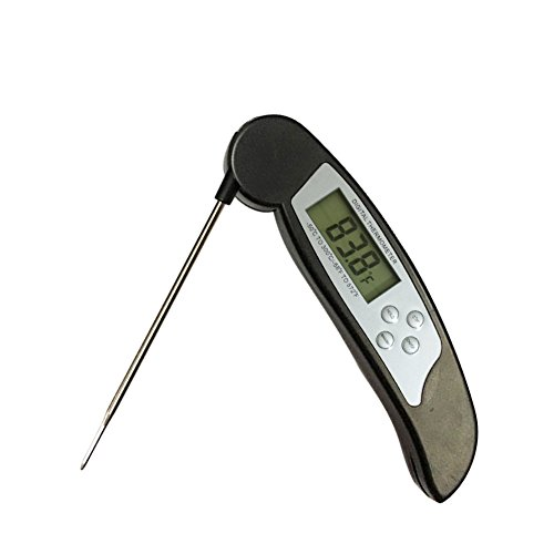 Digital Food Thermometer for Cooking and BBQ Thermometer, Great Meat Thermometer with Waterproof Instant Read Thermometer by Heyday Goods
