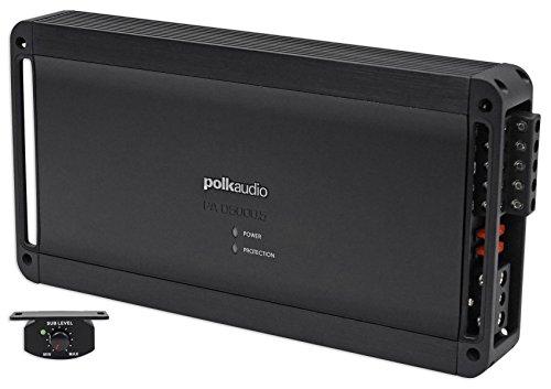 Price comparison product image Polk Audio PAD5000.5 5-Channel Digital Power Amplifier Bridgeable - Black Consumer Electronics