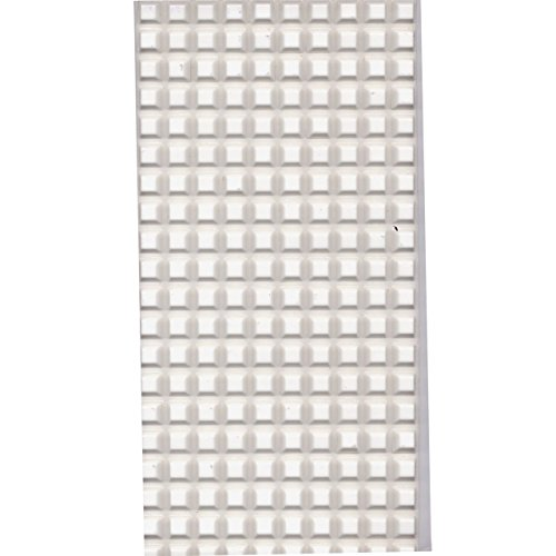 Bump Dots-Square-White-Med-200pk by MaxiAids