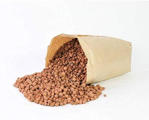 artplants.de Bolas de arlita, marrón, Saco de 40l, 16kg - Saco - Arcilla expandida