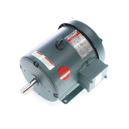 Leeson Electric 132237.00 - General Purpose Motor - 3 ph, 3 hp, 1800 rpm, 230/460 V, 182T Frame, Totally Enclosed Fan Cooled Enclosure, 60 Hz, Rigid base Mount