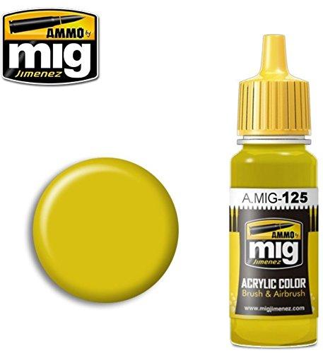 Ammo of Mig Jimenez Acrylic Color Brushes & Airbrush Gold Ye