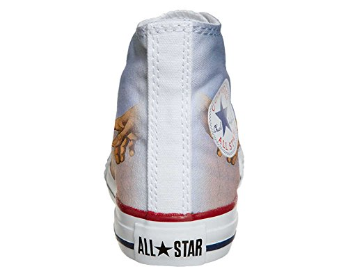 mys Converse All Star Customized - Zapatos Personalizados (Producto Artesano) giudizio universale