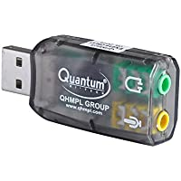 Quantum. QHM623 3D Virtual 5.1 USB Audio Controller Sound Card (Integrated 2 Channel)