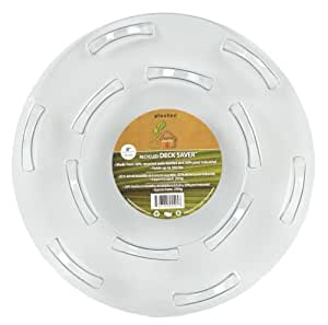 Plastec PPR08 Deck Saver Recycled Plant Saucer, 8-Inch Size: 8 Outdoor, Home, Garden, Supply, Maintenance