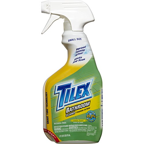 Tilex Bathroom Cleaner, Spray Bottle, Lemon, 16 Ounces (Pack Of 3)