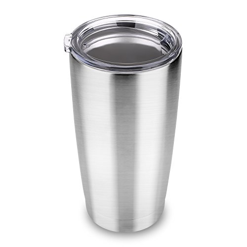 20 oz Travel Tumbler Double Wall Vacuum Insulated Stainless