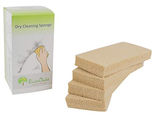 Dry Cleaning Soot Eraser Sponge - (4-Pack) for Smoke, Soot, Dust and Dirt - Soot Eraser