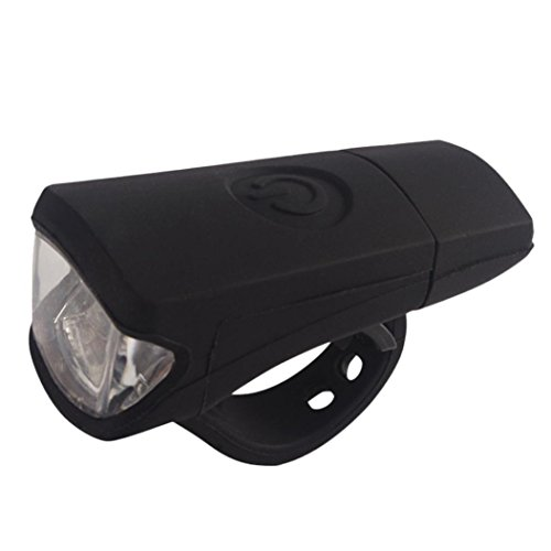 [Joopee USB Charge Bicycle Bike Light Silica Headlight Riding Flashlight, Rehargeable] (Drug Test Costume)