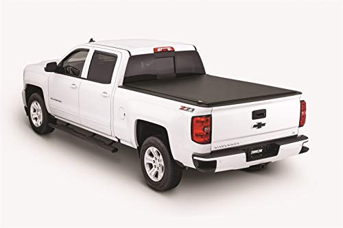 Tonno Pro LR-1045 Lo-Roll Black Roll-Up Truck Bed Tonneau Cover 2014-2018 Chevrolet Silverado/GMC Sierra 1500, 2015-2018 Silverado/GMC Sierra 2500 HD | Fits 6.6' Bed