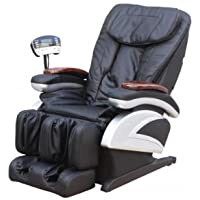 BestMassage EC-06C Full Body Shiatsu Massage Chair with Heat Stretched Foot Rest (Black/Brown/Burgungy)