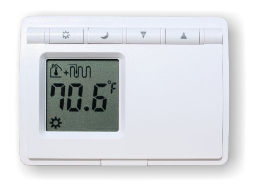 Non Programmable Floor (Azel D-28F: NON-PROGRAMMABLE DIGITAL THERMOSTAT FOR HYDRONIC RADIANT FLOOR HEATING (BATTERY)