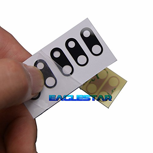 5pcs Lot Eaglestar Sapphire Black New Rear Camera Glass lens Replacement For iPhone 7 Plus 5.5 /iPhone 8 Plus 5.5